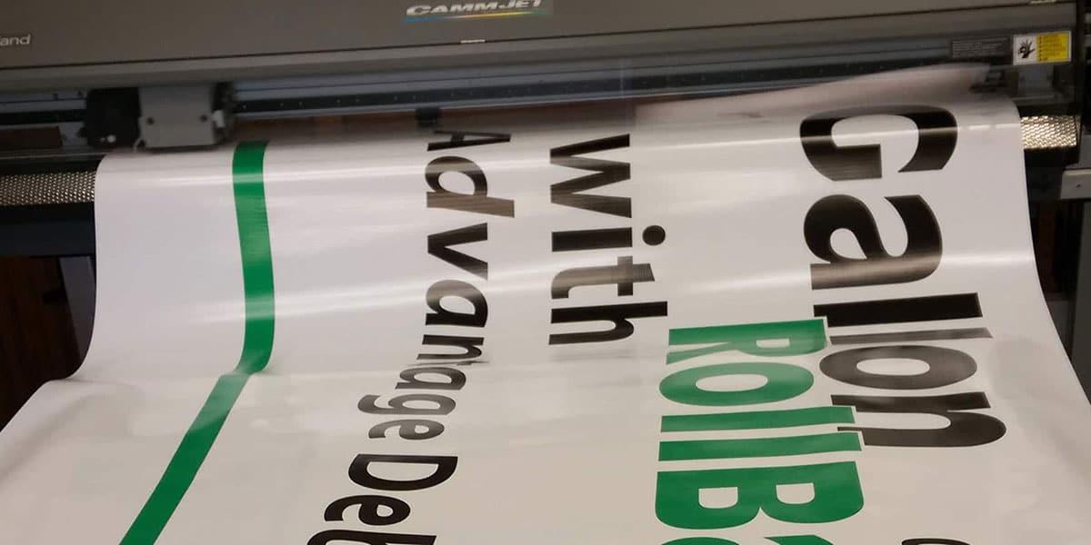 Custom Banner Print Process, Banner Printing